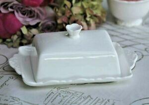 Chic Antique Butterdose Provence Butterbox für  250 Gr. Butter Landhaus 63094-1
