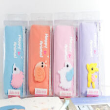 Cute Animal Korean Version Large-capacity Stationery Pouch Pen Bag Pencil Cases