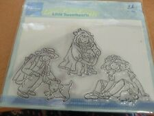 3X CLEAR STAMP MARIANNE DESIGN LITTLE SWEATHEARTS 6.5X4 CM  (MD51)
