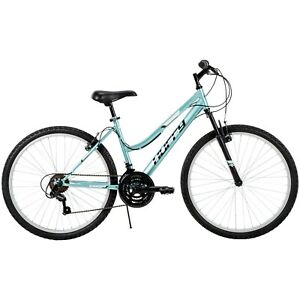 "Huffy 26"" Rock Creek Women's 18-Speed Mountain Bike, New Blue Free Fast Shipping"