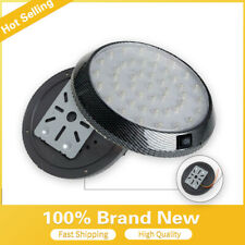 White 46 LED Car Auto Round Dome Roof Ceiling Light Interior DC12V Bulb  Lamps