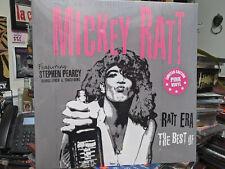 MICKEY RATT Featuring Stephen Pearcy Pink Vinyl LP Round & Round (G.Lynch T.Guns