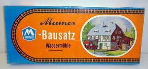 Mamos H0 / TT 2/30 Wassermühle (in ungeöffnetem Originalkarton) RS2966