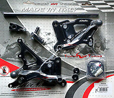 COMMANDES RECULEES VALTERMOTO TYPE 1.5 POUR YAMAHA YZF R1 1000 2009 2010 (PEY63)