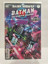 Batman: The Murder Machine Dark Nights Metal Tie In 2nd Printing DC