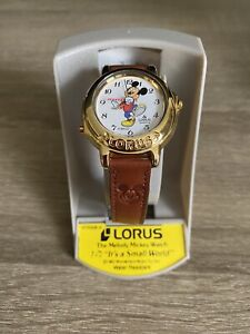 BRAND NEW! Vintage Lorus Mickey Mouse Melody Watch