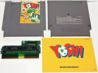 Yoshi NES Nintendo Entertainment System 1992 with Manual Book Free Shipping