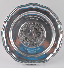 2000 Southern California Golf Association Award Plate Trophy Wilton