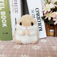 Hot Lovely Plush Cartoon Small Hamster Toy Doll Key Chain,stuffed Mouse Toys.