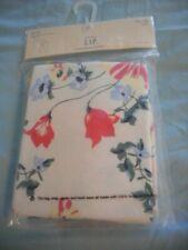 BABY GAP NWT Toddler Girl 12 18 month 2-pc white w floral print LS pajama set