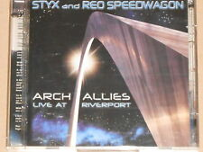 STYX AND REO SPEEDWAGON -Arch Allies - Live At Riverport- 2xCD