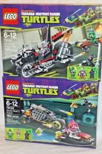 79102 79101 LEGO Mutant Ninja Turtles SHREDDER DRAGON BIKE STEALTH SHELL PURSUIT