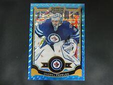 2015-16 OPC O-Pee-Chee Platinum BLUE CUBES #149 Ondrej Pavelec Winnipeg  / 75