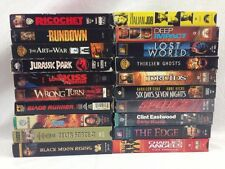 20 VHS Sci Fi / Action / Horror Movies Rock Christopher Lambert Ice T Lot