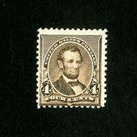 US Stamps # 222 Fresh OG NH Mint State Catalog Value $240.00