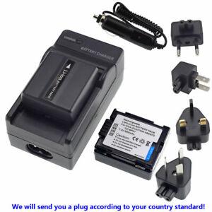 2X CGA-DU07 Battery + Regular Charger for Panasonic NV-GS26 GS27 GS28 GS29 GS30