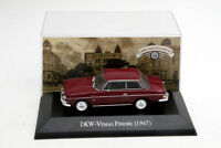 1:43 Scale DKW Vemag Fissore 1967 Car Diecast Models Collection Miniature Toys