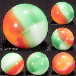 STUNNING Marble King Rainbow Vintage Marble 5/8 mint- hawkeyespicks