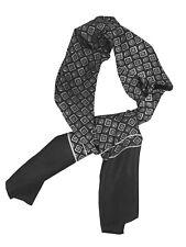 Men's Luxury Micro Weave Polyester Ultra Warm Scarf / Cravat Feels Like Silk