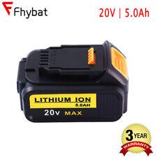 DEWALT DCB205 Premium XR Max 20V 5.0Ah Lithium-Ion Battery