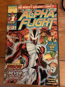 Alpha Flight #1 NM 1997 MARVEL COMICS (2nd Series)
