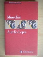 MussoliniLepre AurelioLaterzabiblioteca essenzialestoria biografia 201