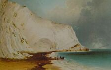 Antique (Pre-1900) Realism Landscape Art Prints