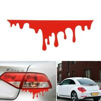 Blood Drip Red PVC Vinyl Decal, Bumper Sticker, Car Window, Laptop Skateboard