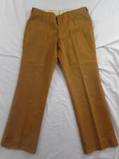 Vtg 60s H Bar C Galey & Lord Cotton Orange Western Pants Rockabilly 36x29.5 Rare