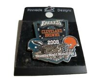 Game day pin Philadelphia Eagles vs Cleveland Browns