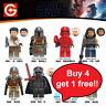 Star Wars Minifigures 300+ Yoda Darth Vader Kylo Ren Leia Rey Mandalorian Toys