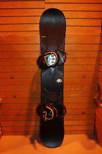 Salomon Forecast Snowboard 153cm, Large Burton Bindings (9.5 - 15) - Lot 1394