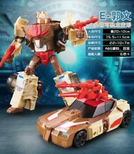 WEIJIANG Transformation IDW Headmasters Chromedome Toy Action Figure Box
