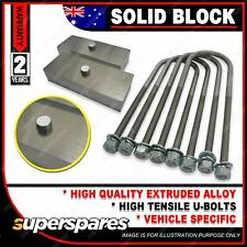 """1"""" 25mm Solid Lowering Block Kit for Ford Falcon AU BA BF FG 1998-2014"""