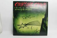 COUNTING CROWS Recovering The Satellites Signed Autographed Vinyl Records