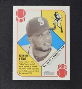 2015 Topps Heritage '51 Collection Mini Blue Back #53 Robinson Cano - NM-MT