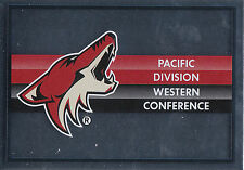 16/17 PANINI NHL STICKER TEAM LOGO #261 *ARIZONA COYOTES *24893