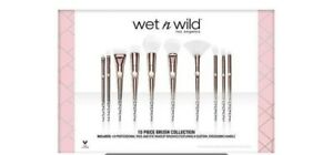 Wet n Wild Pro Brush Set 10 Brushes NIB Sold Out New in Box Limited edition