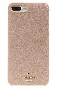 Kate Spade New York 256537 Womens Rose Gold Glitter Hard iPhone 7/8 Plus Case