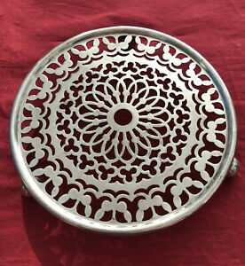 Vintage Silver Plated Trivet By The Co-Operative Wholesale Society c.1920's