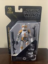 "Star Wars The Black Series Archive CLONE COMMANDER 6"" CODY Action Figure Hasbro"