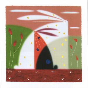 Govinder Summer Breeze Poster Kunstdruck Kunstdrucke Bild Hasen Bilder 60x60 cm