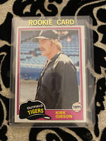 1981 Topps Baseball Card #315 Kirk Gibson RC Detroit Tigers