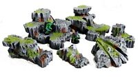 Rock scatter terrain (Warhammer 40k, Dungeons and Dragons, Age of Sigmar)