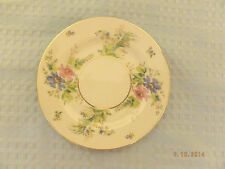 Thomas Bavaria Thomas Ivory Bread & Butter Plate # 04491 White with Florals