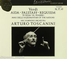 Toscanini Collection Vol. 56, 57, 63 Verdi: Aida, Falstaff, Requiem - CD
