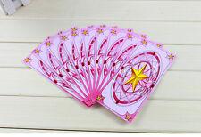 Pink 54pcs  Kros Brand Card Captor Sakura Magical Clow Cards Captor
