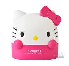 Pink Hello Kitty Office Bathroom Bedroom Roll Tissue Kleenex Box Cover Holder