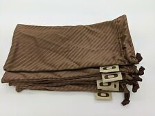 New Oakley Microfiber bag 3 pack Large Brown Micro No sunglasses pouch Free Ship