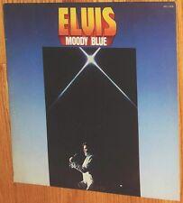 VINYL LP Elvis Presley - Moody Blue / Blue Vinyl Masterfonics GAM Meadows